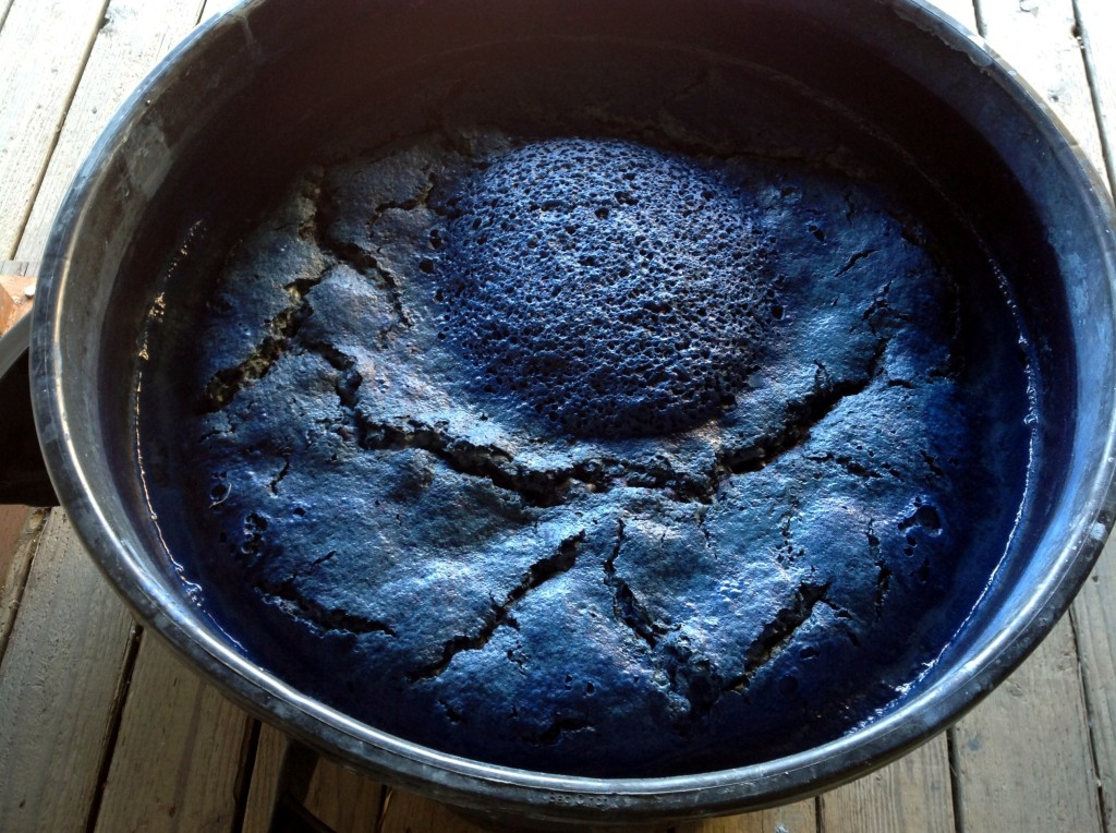 This is our natural Indigo Vat